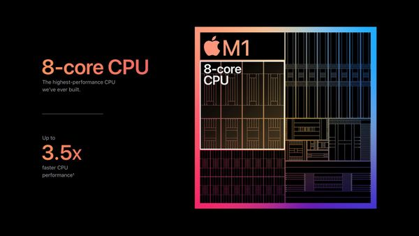 Apple's M1 Chip Benchmarks focused on the real-world programming